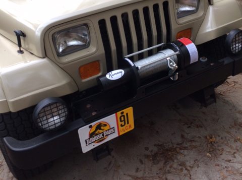 Replia WInch installed