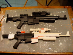 Sample of the kit on the airsoft                                   gun