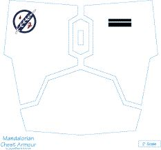 Pin Mandalorian Armor Template on Pinterest
